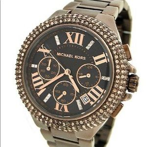 Michael Kors Women's Camille Espresso Watch MK5665